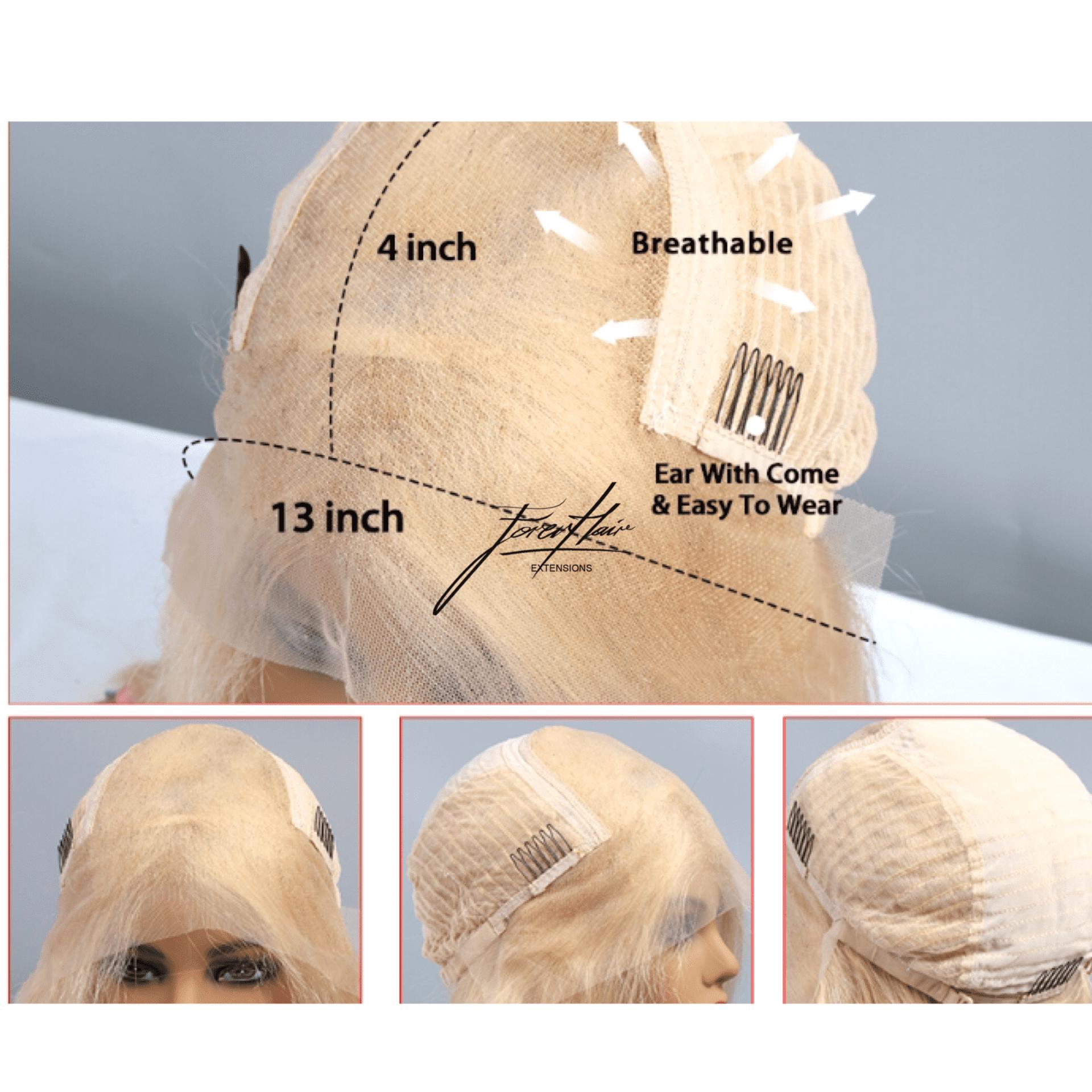parrucca bionda