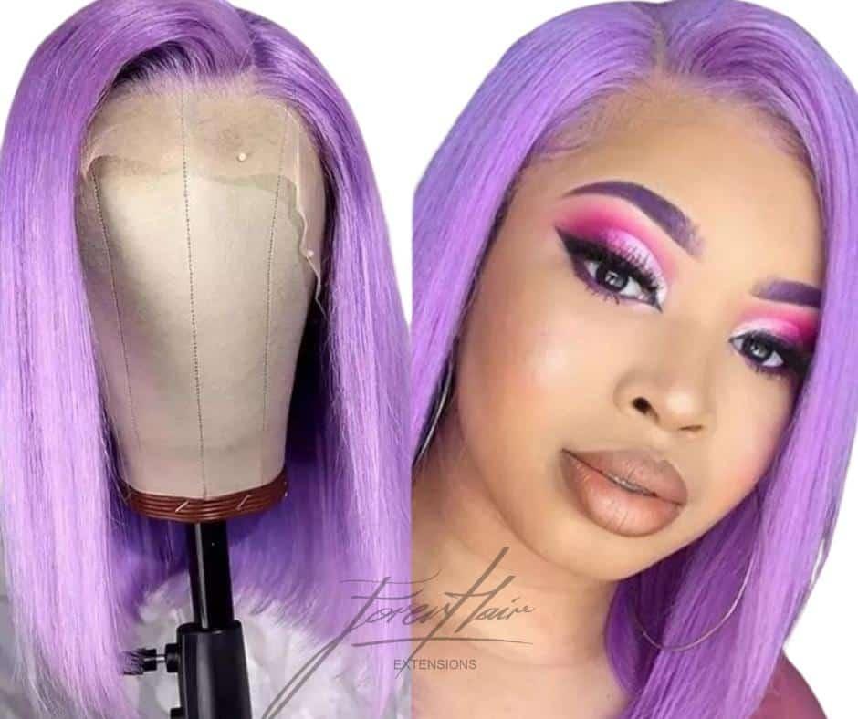 parrucca lilla